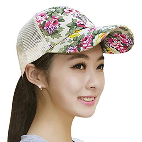Fashion Baseball Caps Sun Protection Large Visor Mesh Sun Caps Hats Headwear Breathable Quickly Dry Outdoor Cycling Camping Fishing Travel Tennis Golf Beach Hats Caps Topee for Women Ladies