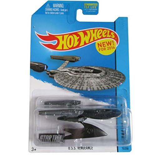 2014 Hot Wheels (75/250) - Star Trek - U.S.S. Vengeance by Hot Wheels 4