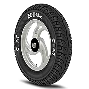 Ceat Zoom D  90/100 -10 53J  Tubeless Scooter Tyre,Front or Rear (Home Delivery)