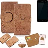 K-S-Trade 360° Cover cork Case for ZTE Blade L7A |