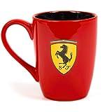 Ferrari Scuderia, Red Scudetto Mug with contrast Black interior, 2018, F1, Officially Licensed Merchandise …