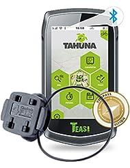 TEASI ONE 3 eXtend - Fahrrad- & Wandernavigation + Fahrradhalter mit Kugelgelenk Lenkermontage + USB Netzteil