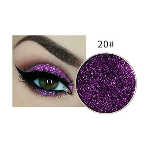 Momoxi Schimmern Sie Glitter Lidschatten Pulver Palette Matte Lidschatten Kosmetik Make-up
