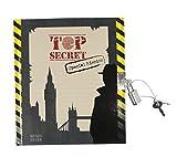 Trendhaus 943637 Top Secret Tagebuch