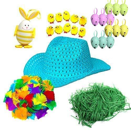 Haz Tu Propio NIÑO COMPLETO Pascua Sombrero de Cowboy Kit elaboración - Set 2