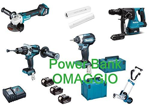 Preisvergleich Produktbild Makita DLX4104TJ1 Akku-Werkzeugset 18 V