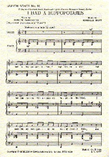 reginald-hunt-i-had-a-hippopotamus-partitions-pour-voix-unison-accompagnement-piano