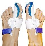 CareforYou®, stecca notturna per alluce valgo, correttore/regolatore/supporto/separatore, per cura dei piedi e sollievo dal dolore, azione notturna