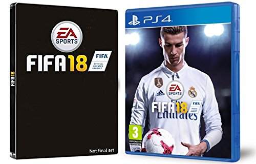FIFA 18 - Edición estándar + Steelbook (Exclusivo en Amazon)