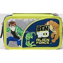 Astuccio Scuola 3 Cerniere Ben10 Alien Force Giochi Preziosi