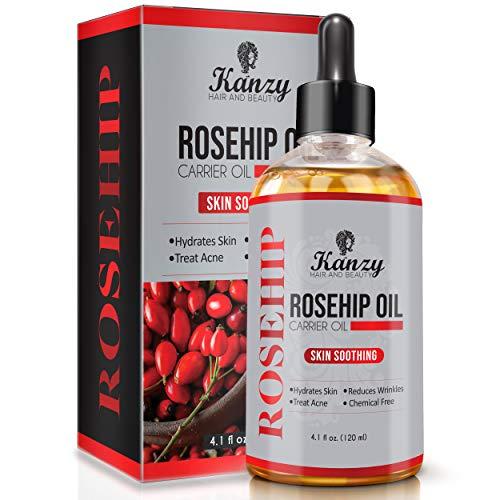 Kanzy Aceite rosa mosqueta 4.1 floz - Aceite orgánico