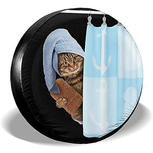 Hiram Cotton Spare Tire Cover Ruota di Scorta per Ruota di Scorta Copertura per Pneumatici Fuoristrada velocità Estrema Overdrive Univers