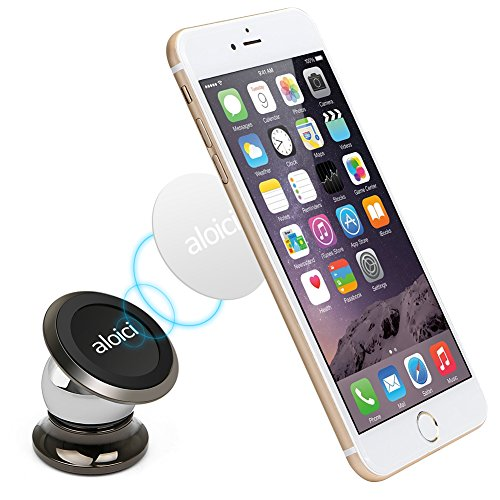 ALOICI Universal Handy Halterung Auto Magnet, 360 °Einstellbare Smartphone Halter mit superstarkem Magneten für iPhone 8/7Plus/7/6/6s X und Huawei Galaxy S8/S7/S6 usw GPS-Gerät