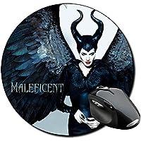 Malefica Maleficent Angelina Jolie B Alfombrilla Redonda Round Mousepad PC