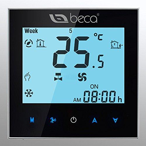 BECA Termóstato, control Dos tubos de calefacción / ventilador de refrigeración Central...