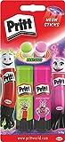 Pritt PS2SE Pritt Stick 2 Neon-Klebestifte Rosa/grün