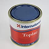 International Boat High Gloss Durable Yacht Paint Toplac 750 ml Brand New (Oxford Blue)