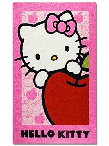 De colour de contraste 2.05, D80120HK08 Disney alfombra, 80 x 120 cm, Hello Kitty 08