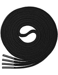 Miscly – Schnürsenkel Flach, Reißfest [3 Paar] für Sportschuhe, Sneakers und Laufschuhe – 100% Polyester - 8 mm breit