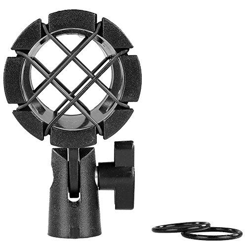 Neewer® Universale Microfono Shock Mount antiurto clip per AKG D230, Senheisser ME66, Rode NTG-2, NTG-1, Audio-Technica AT-875R