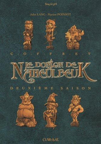 Le Donjon de Naheulbeuk, Deuxième saison : Coffret 4 volumes : Tomes 3 à 6