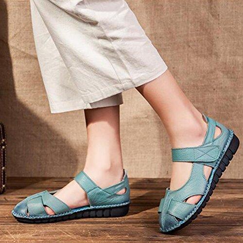 ... Vogstyle Donne Sandali Scarpe Casual Classic Bocca Di Pesce Romani  Sandali Stile 1-Blu