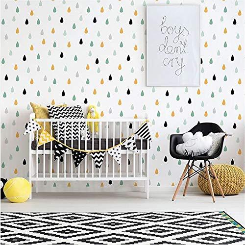 WALSTICKEL Wandtattoos Kleine Regentropfen Wandaufkleber Für Kinderzimmer Baby Mädchen Zimmer Wanddekor Baby Boy Room Home Decor Kinder Schlafzimmer Wandaufkleber (Boy Kleine Minion)