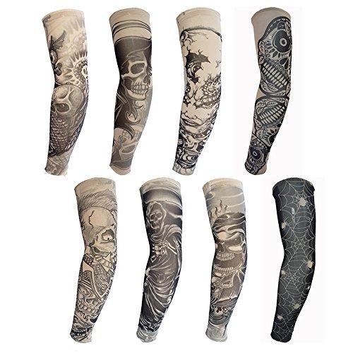 coceca-8-pcs-temporaire-faux-glissement-tatouage-manches-bras-kit-collection-tattoo-8pc