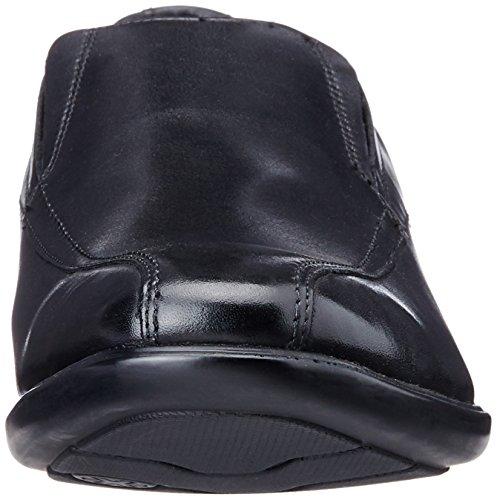 Clarks Gosworth Step Herren Slip-Ons Schwarz (Black Leather)