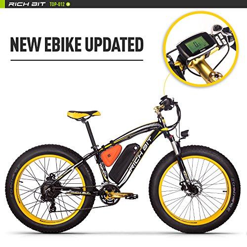 Eléctricas Bicicletas TP022 1000W Motor 48V 17Ah Batería de Litio-ion 7 niveles de Pedal asistido LCD Speedometer Tachometer Motorcycle 26...