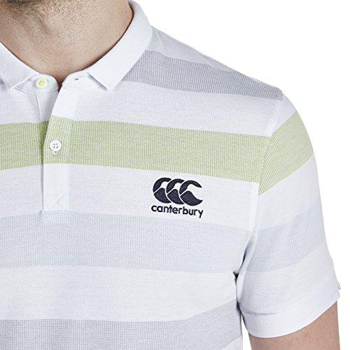 Canterbury - Polo Jacquard da uomo White