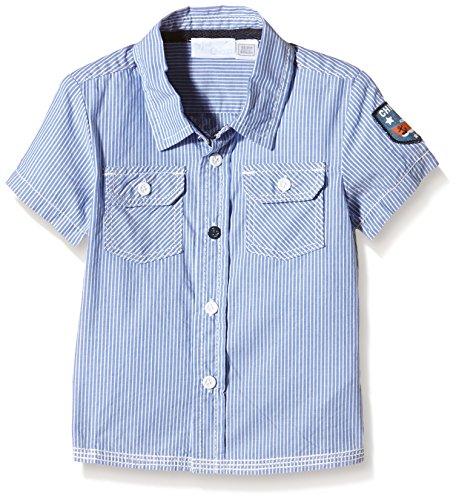 Chicco Baby - Jungen Hemd , Blau - Blau (Jeansblau), Gr. 6 Monate(62 cm)
