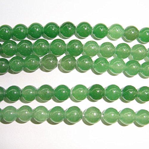 (thetastejewelry grünes Licht Rund 4mm Aventurin Perlen 38,1cm 38cm Halskette Heilung Schmuck herstellen)
