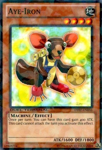 Yu-Gi-Oh! - Aye-Iron (DT07-EN056) - Duel Terminal 7B - Unlimited Edition - Common by Yu-Gi-Oh! Aye Gi