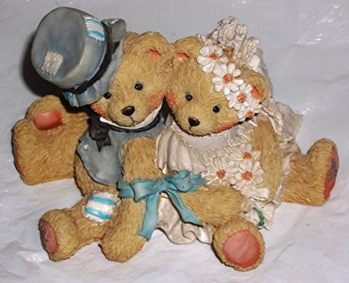 Enesco Cherished Teddies, Robbie & Rachel, Love Bears All Things, 911402 by Enesco -