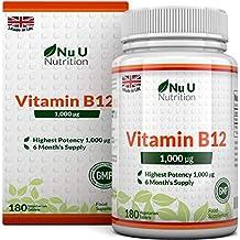 Vitamina B12 | Meticobalamina | 1000 mcg - 180 Comprimidos (Suministro para 6 meses)
