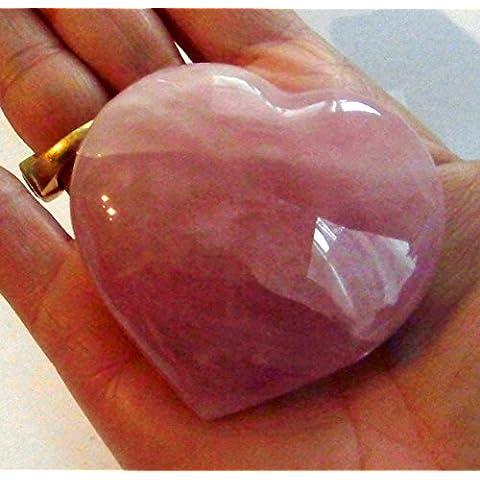 Quarzo rosa cuore grande