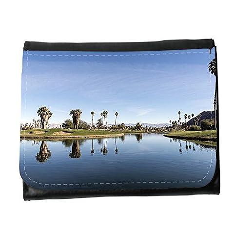 Portemonnaie Geldbörse Brieftasche // M00311474 Oasis Desert Resort Wasser Palms