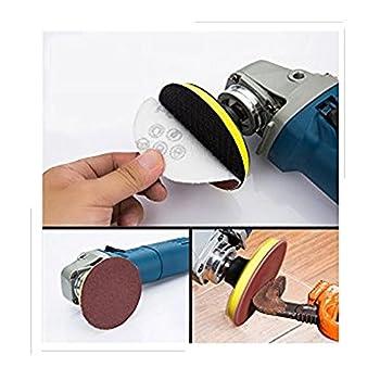 Goodchanceuk, 3-zoll-(7,5Cm)-schleifscheiben-papier, Klettband-schwingschleifer-ballen, Körnung: P80, P100, P180, P600, P800, P1000, P1200, P2000, P3000. 2