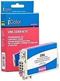 iColor Druckerpatronen: Tinten-Patrone T3593 / 35XL für Epson-Drucker, Magenta (Rot) (Druckerpatrone)