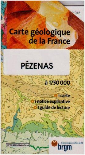 Carte géologique : Pézenas