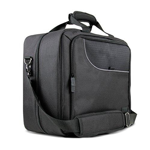 Gaming Konsole Tragetasche / Tasche für Reisen mit verstellbarem Schultergurt - funktioniert auch mit PlayStation 4 Pro, Xbox One, Xbox One S und Nintendo Wii U