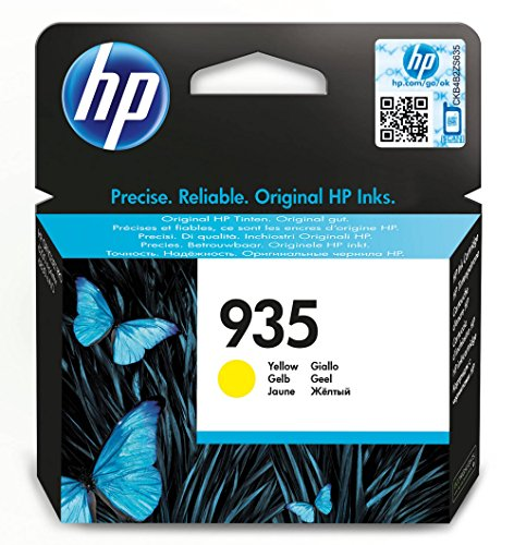 HP 935 - Cartucho de tinta Original HP 935 Amarillo para HP OfficeJet Pro 6230, 6830