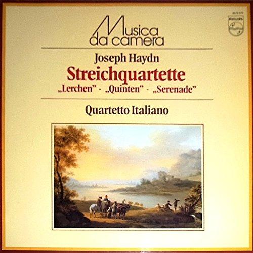 Streichquartette Op. 76,2 Op. 3,5 Op. 64,5 [Vinyl LP] -