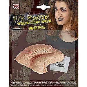 WIDMANN Application thick latex witch nose (accesorio de disfraz)