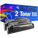 2 Toner-Patronen XL PlatinumSerie Schwarz für HP Q2612A 12A Laserjet 1010 1012 1015 1018 1020 ...