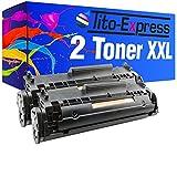 2 Toner-Patronen XL PlatinumSerie Schwarz für HP Q2612A 12A Laserjet 1010 1012 1015 1018 1020 1022 1022N 1022NW 1028 3015 3015AIO 3020 3020AIO 3030 3030AIO 3050 3050Z 3052 3055 M1005 M1005MFP M1319 M1319F