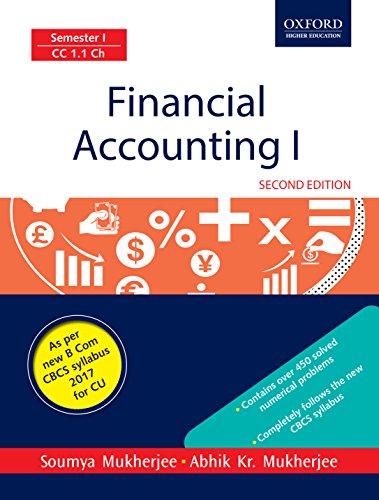 Financial Accounting I