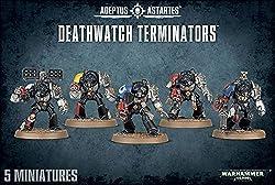 Warhammer 40,000 40K Deathwatch Terminators
