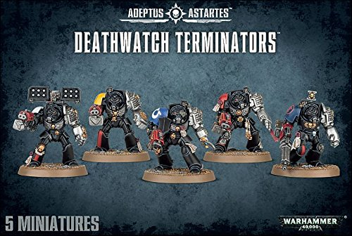 Warhammer 40,000 40K Deathwatch Terminators by 40K